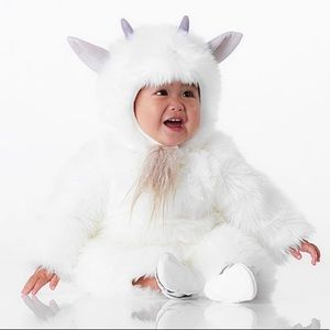 Pottery Barn Kids Baby Goat Costume